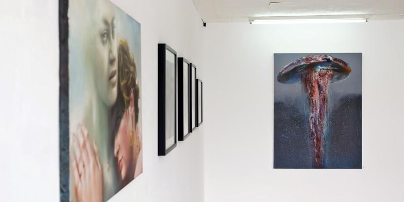 Renaud Desmazières exposition, La Belle Epoque, 2016