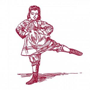 La Danseuse, sérigraphie.